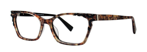 Seraphin - Meadow Black Leopard Eyeglasses / Demo Lenses