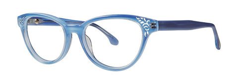 Bon Vivant - Yvette Atlantic Blue Eyeglasses / Demo Lenses