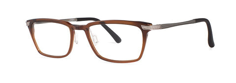 Red Rose - Thorpe Espresso Eyeglasses / Demo Lenses