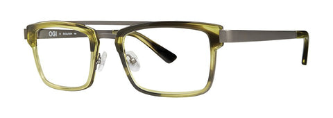 OGI - 9243 Moss Green Eyeglasses / Demo Lenses