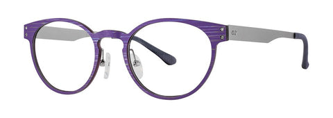 Red Rose - Langley Purple Prism Eyeglasses / Demo Lenses
