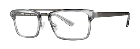 OGI - 9243 Nimbus Grey Eyeglasses / Demo Lenses