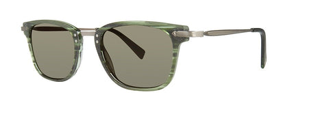 Seraphin - Hancock Cypress Green Specter Sunglasses / Green Lenses