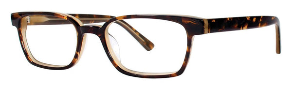 OGI - 7150 Brown Demi Eyeglasses / Demo Lenses