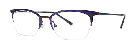 Red Rose - Sutter Violet Eyeglasses / Demo Lenses