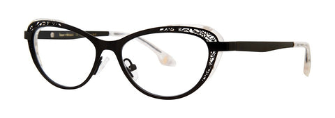 Bon Vivant - Sabrina Black Eyeglasses / Demo Lenses