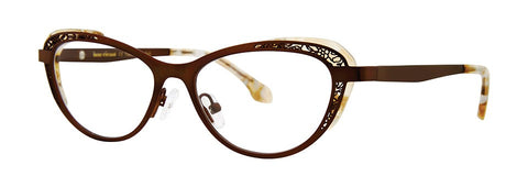 Bon Vivant - Sabrina Cocoa Brown Eyeglasses / Demo Lenses