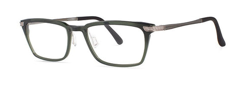 Red Rose - Thorpe Electric Evergreen Eyeglasses / Demo Lenses