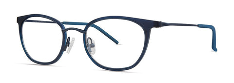 Red Rose - Sawyer Navy Eyeglasses / Demo Lenses