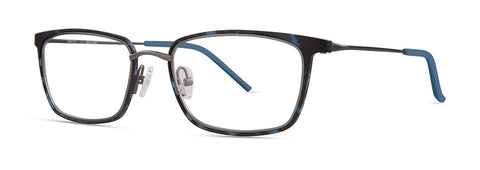 Red Rose - Lennox Navy Demi Eyeglasses / Demo Lenses