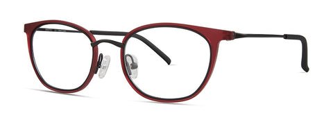 Red Rose - Sawyer Burgundy Eyeglasses / Demo Lenses