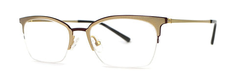 Red Rose - Sutter Gold Eyeglasses / Demo Lenses