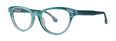 Bon Vivant - Yvette Coastal Teal Eyeglasses / Demo Lenses