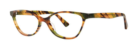 OGI - 9106 Orange Green Brown Streak Eyeglasses / Demo Lenses