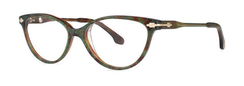 Bon Vivant - Lorelei Jade Lace Eyeglasses / Demo Lenses