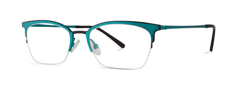 Red Rose - Sutter Teal Eyeglasses / Demo Lenses
