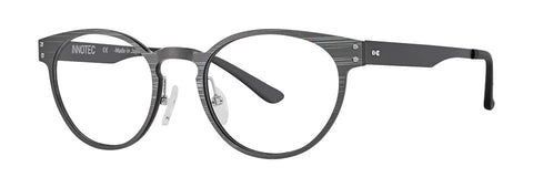 Red Rose - Langley Mirage Grey Eyeglasses / Demo Lenses