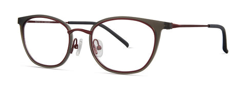 Red Rose - Sawyer Grey Eyeglasses / Demo Lenses