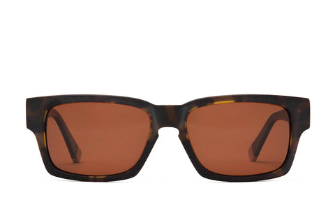 Proof - Bannock Eco Matte Tortoise Sunglasses / Brown Polarized Lenses