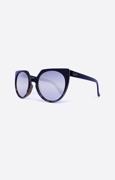 Quay Give And Take Black / Silver Sunglasses