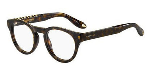 Givenchy - Gv 0007 Dark Havana Eyeglasses / Demo Lenses