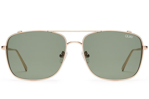 Quay Weekend Warrior Gold / Green Sunglasses