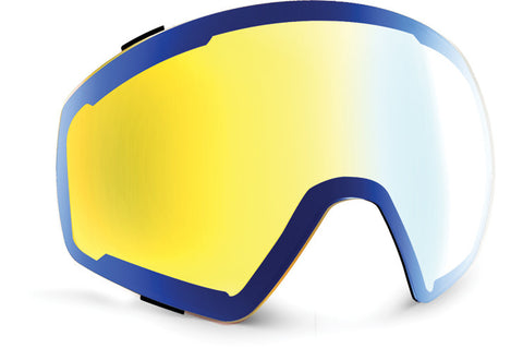 VonZipper - Skylab Wildlife Yellow Chrome Snow Goggle Replacement Lens