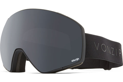 VonZipper - Jetpack Black Satin Snow Goggles / Wildlife Blackout Lenses