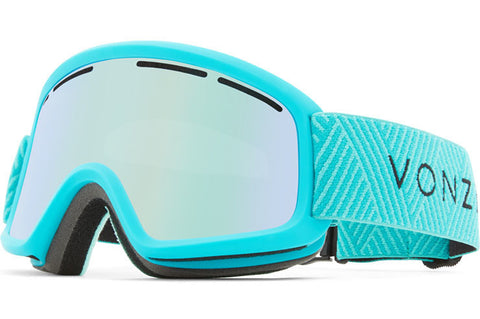 VonZipper - Trike Mint Satin Snow Goggles / Wildlife Stellar Chrome Lenses