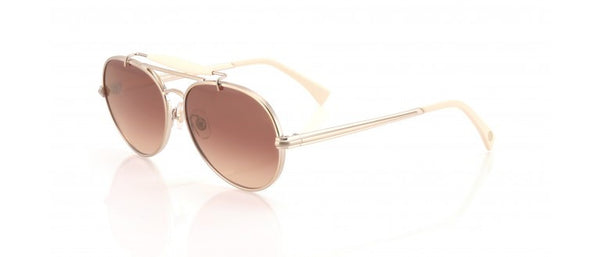 Wildfox - Goldie Antique Gold & Cream Sunglasses
