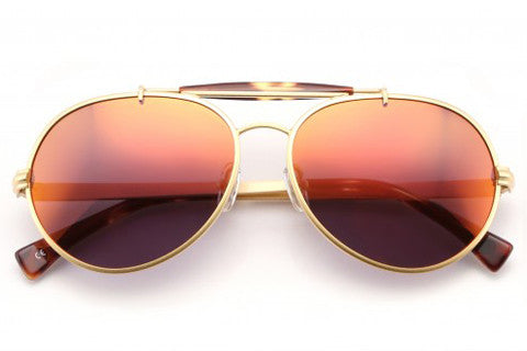 Wildfox - Goldie Deluxe Gold & Tokyo Tortoise Sunglasses