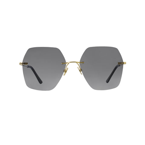 Spektre - Lovestory Gold Sunglasses / Gradient Smoke Lenses