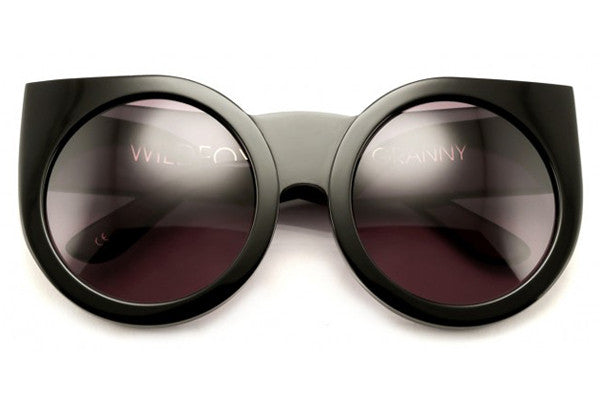 Wildfox - Granny Black Sunglasses