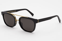 Super - Akin Black Sunglasses