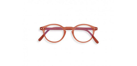 Izipizi - #H Warm Orange Eyeglasses / Screen Blue Light Lenses