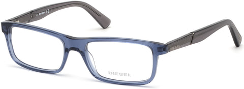Diesel - DL5292 Shiny Blue Eyeglasses / Demo Lenses