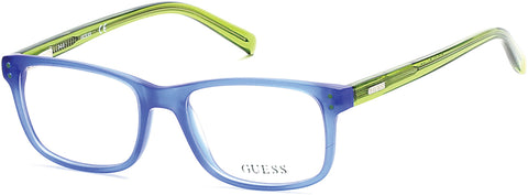 Guess - GU9161 Matte Blue Eyeglasses / Demo Lenses
