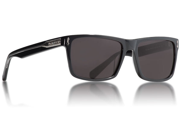 Dragon - Blindside Shiny Black Sunglasses / Smoke Lenses