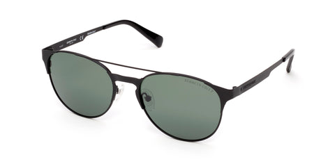 Kenneth Cole - KC7224 Matte Black Sunglasses / Green Polarized Lenses