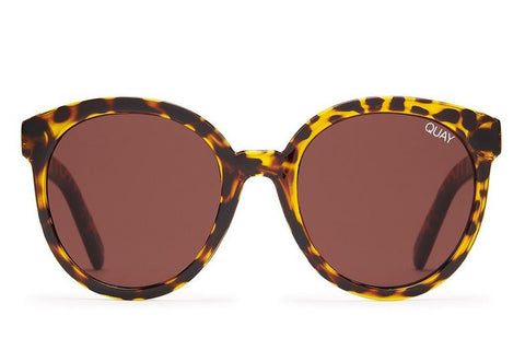 Quay High Tea Tortoise / Brown Sunglasses