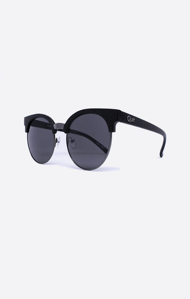 Quay - Highly Strung Black Sunglasses