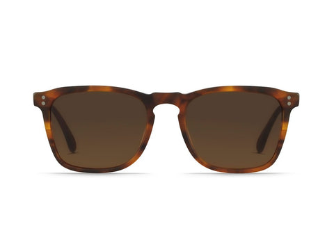 Raen - Wiley Matte Rootbeer Sunglasses / Brown Lenses