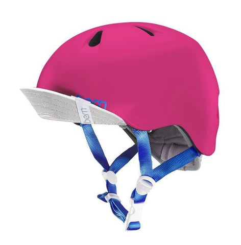 Bern - Nina Satin Hot Pink Bike Helmet