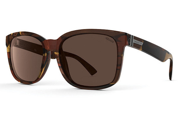 VonZipper - Howl Tobacco Tortoise POB Sunglasses, Wildlife Bronze Polarized Lenses