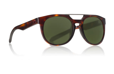 Dragon - Proflect Matte Tortoise Sunglasses / Lumalens Green Lenses