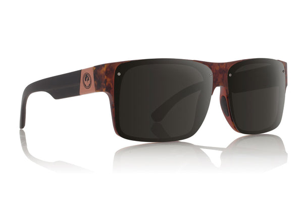 Dragon - Reverb Polished Walnut / Grey Sunglasses