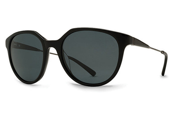 VonZipper - Hyde Black BKV Sunglasses, Vintage Grey Lenses