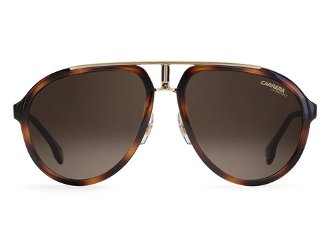 Carrera - 1003 Havana Gold Sunglasses / Brown Gradient Lenses