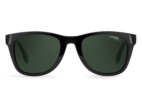 Carrera - 5038 Black Sunglasses / Green Lenses