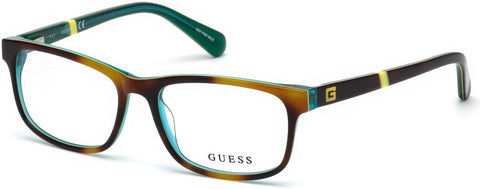Guess - GU9179 Dark Havana Eyeglasses / Demo Lenses